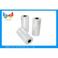 Wholesale 78% Shrinkage 40MIC Clear PET Plastic Shrink Film For Shrink Sleeve Labels Material from china suppliers
