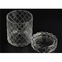 Wholesale Beautiful Straight Wall Glass Cylinder Candle Holders For Candle Making from china suppliers
