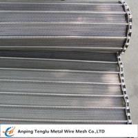 Quality Flat Spiral Conveyor Belt/Spiral Wire Belting for Food Industry for sale