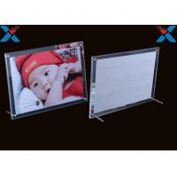 Wholesale Shape Custom Plexiglass Photo Frames Acrylic A4 A3 Certificate Picture Frames from china suppliers