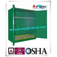 Wholesale Green Hazardous Storage Cabinets , Dangerous Goods Storage Cabinets For Chemicals from china suppliers