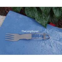 Wholesale Titanium Folded Fork / Scoop from china suppliers