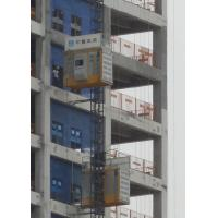 China Q345 Steel Material Rack And Pinion Lift , SC200BG Construction Rack Pinion Elevator for sale
