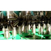 China Linear Soda Water / Carbonated Drink Filling Machine / Equipment With PLC Control on sale