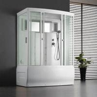 Wholesale Steam Shower Room with 4mm Toughened Glass from china suppliers