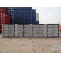 China Grey Ocean Shipping Containers Length 12192MM Corner Casting High Efficiency for sale
