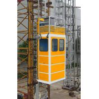 Wholesale Portable Construction Material Hoists / Passenger Hoist Green Yellow Or Customized from china suppliers