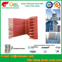 Quality High Pressure CFB Boiler Water Wall Panels Water Tube ASME with Certification for sale