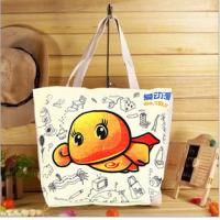 Wholesale High quality 100% cotton canvas shopping bag from china suppliers