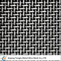 China Stainless Steel Twill Weave Wire Mesh Cloth|Crossed Twilled Wire Fabric for sale