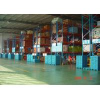 Wholesale High Capacity Storage Pallet Warehouse Racking / Selective Pallet Racking System from china suppliers
