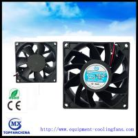 Buy cheap 38mm Thick Booster Computer Cooling Fans 48v 60v High Air Flow from Wholesalers