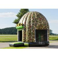 Wholesale Customized Disco Bouncer House Army,Inflatable Dome Bouncy Combo For Kids from china suppliers