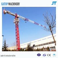 Quality Topless tower crane 6t load TC5610 falt top tower crane for sale for sale