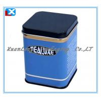 Wholesale Square Metal Tea Tin from china suppliers