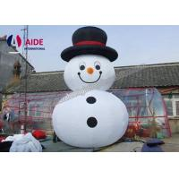 Wholesale 10FT Christmas Snowman Inflatable Yard Decorations Outdoor Personal Use from china suppliers