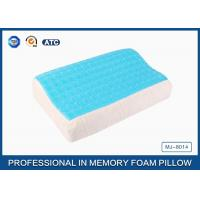 Wholesale Softest Contour Dream Flat Memory Foam Pillow Stomach Sleeper , gel pillow case from china suppliers