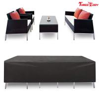 Wholesale Patio Cover Outdoor Lounge Sofa Backyard Furniture Waterproof Material from china suppliers