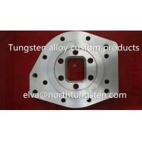Buy cheap tungsten alloy can pot cap blank nickel iron 92%W counterweight groove hole from wholesalers