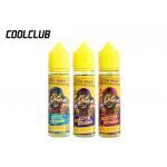 China Cush Man 60ml Smoke Liquid Tropical Fruit Banana / Strawberry / Grape Flavors for sale