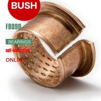 China Diamond Oil Holes Wrapped Bushing, Bronze CuSn8P, DIN 1494 / ISO 3547, Low-maintenance on sale
