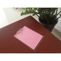 Quality wholesale customize office stationery A3 A4 A5 acrylic plastic clip board with for sale