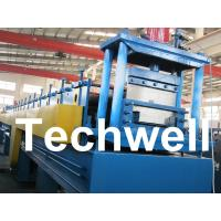 Wholesale 18 Forming Stations Top Hat Purlin Roll Forming Machine With Manual / Hydraulic Uncoiler from china suppliers