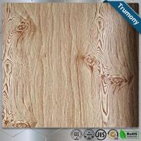 Wholesale Decoration Wood Grain Aluminum Composite Panel Thickness 3mm ~ 6mm Paint Coat Surface from china suppliers
