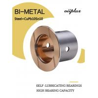 Wholesale Steel With Cupb10sn10 Bimetal Sleeve Bearing Indents Oil Or Grease Welded Joint from china suppliers