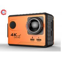 Wholesale Voice Control EF100P Wifi 4K Action Camera 2.0 Touch Screen with Gyro and Remote, GPS Extension as option from china suppliers