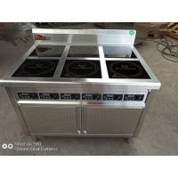 Wholesale SUS 304 Material Electric Cooking Range 14kw , Stainless Steel Electric Range from china suppliers
