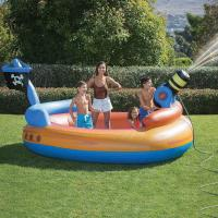 Wholesale Pirates Kids Water Cannon Inflatable Swimming Pool With Custom Logo from china suppliers