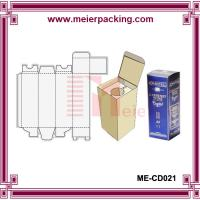 Wholesale Cheap coated paper wine box/Custom printed wine paper box ME-CD021 from china suppliers