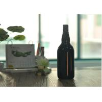 Wholesale Blown Cutting Glass Wine Bottles 1 Liter Glass Liquor Bottles Customized from china suppliers