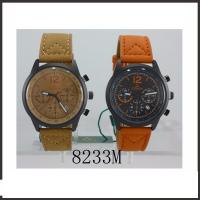Wholesale Colorful Waterproof Hand Watch  For Man , PU Band Classic Leather Watch from china suppliers