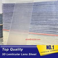 Wholesale OK3D sell 70LPI PET 0.9MM 60X80CM Lenticular Plastic lens for 3d lenticular printing by injekt print and UV offset print from china suppliers