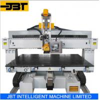 China Custom Five Axis Moving Table CNC Router Furniture Engraving Machinery on sale