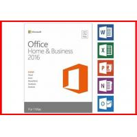 Buy cheap Online activation  Office 20016 home and business for MAC Retail Box  32/64 Bit from Wholesalers