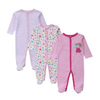 Wholesale Customized Color Soft Infant Baby Clothes Comfortable Cotton Baby Garment grils from china suppliers