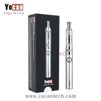 Wholesale No unhealthy wicks or coils wax vaporizer exgo Yocan EXgo W1 hottest upgraded ego wax atomizer from china suppliers