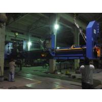 China Double Milling Heads Hydraulic Bending Machine , Boiler Horizontal Plate Bevelling Machine for sale