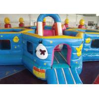 Quality Lovely Waterproof Inflatable Toddler Playground , Kids Bouncy Castle Rental for sale
