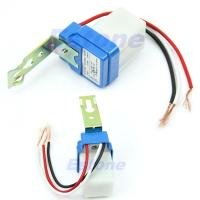 Wholesale AC DC 220V 10A Auto On Off Photocell Street Light Photoswitch Sensor Switch from china suppliers