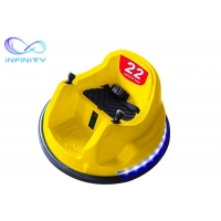 Wholesale Yellow Commercial PP Plastic Children Bumper Car 73*73*44cm from china suppliers