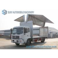 Wholesale 12 T Refrigerator Van Truck Dongfeng Kingrun 4x2 Wing Open Cummine Engine 170 HP from china suppliers
