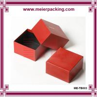 Wholesale Favor red paper gift box, paper box made by 2mm grey board + 157g double coated paper from china suppliers