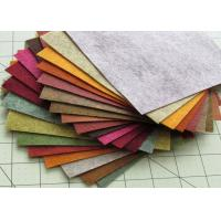 Quality 100% Viscose Material Red Polyester Felt Fabric Heavy Duty Wiping Rags Colorful for sale