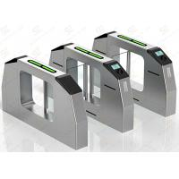 Wholesale Electronic Full Automatic Swing Barrier Gate Shock Proof for Metro Turnstile from china suppliers