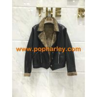 China Factory Supplier!!! wholesale lady short leather jackets for sale