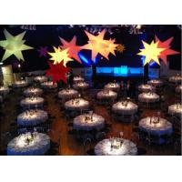 Wholesale Beautiful Led Inflatable Star Oxford Cloth Lucky Star For Stage Lighting from china suppliers